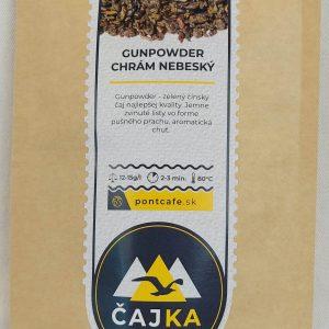Zelený čaj GUNPOWDER CHRÁM NEBESKÝ