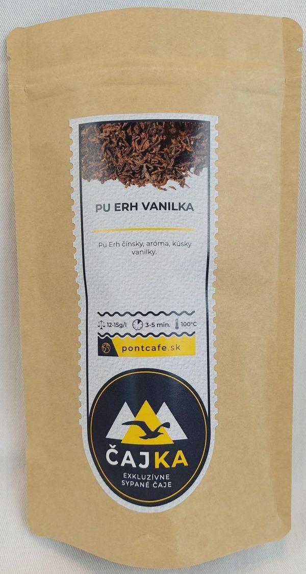 Pu-Erh čaj VANILKA